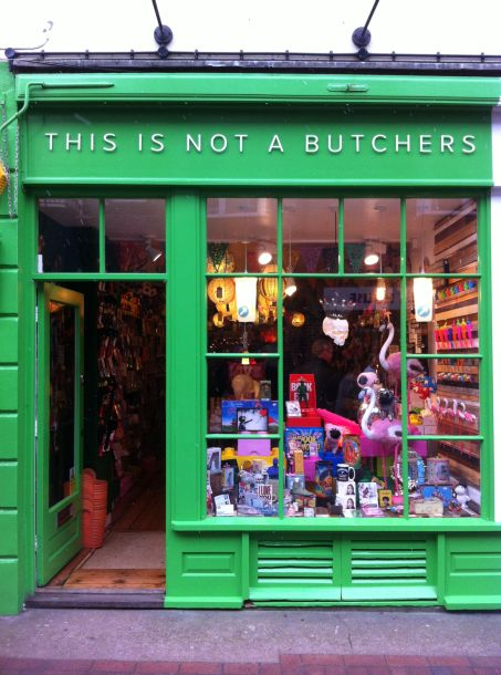 This is not a butchers